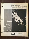Bendix RDR-230HP Weather Radar System install manual