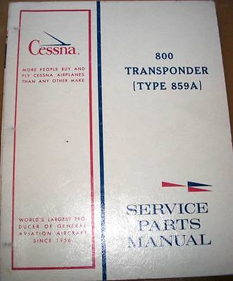 Cessna ARC RT-859A Transponder Service Manual