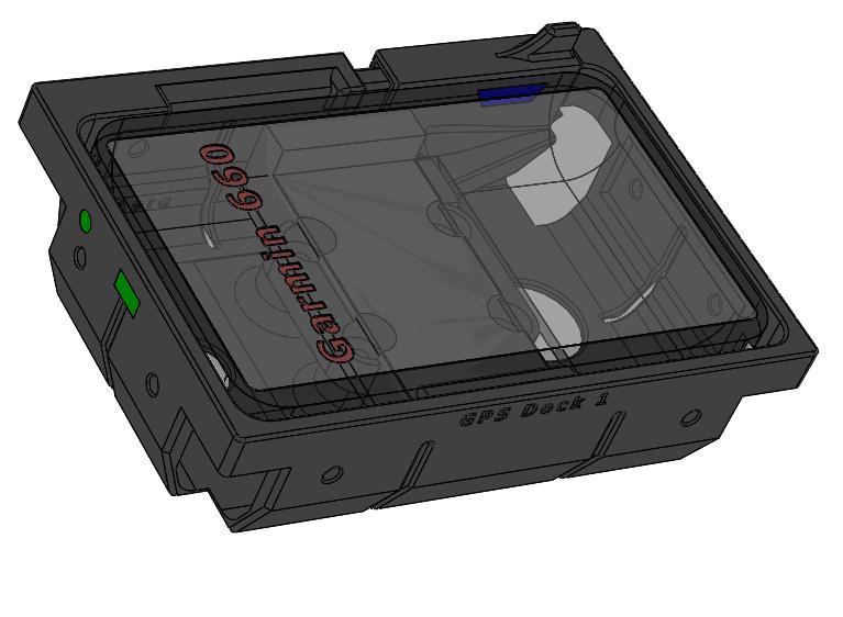 GARMIN Aera 660 GPS Dock 4.25 x 6.046 inch