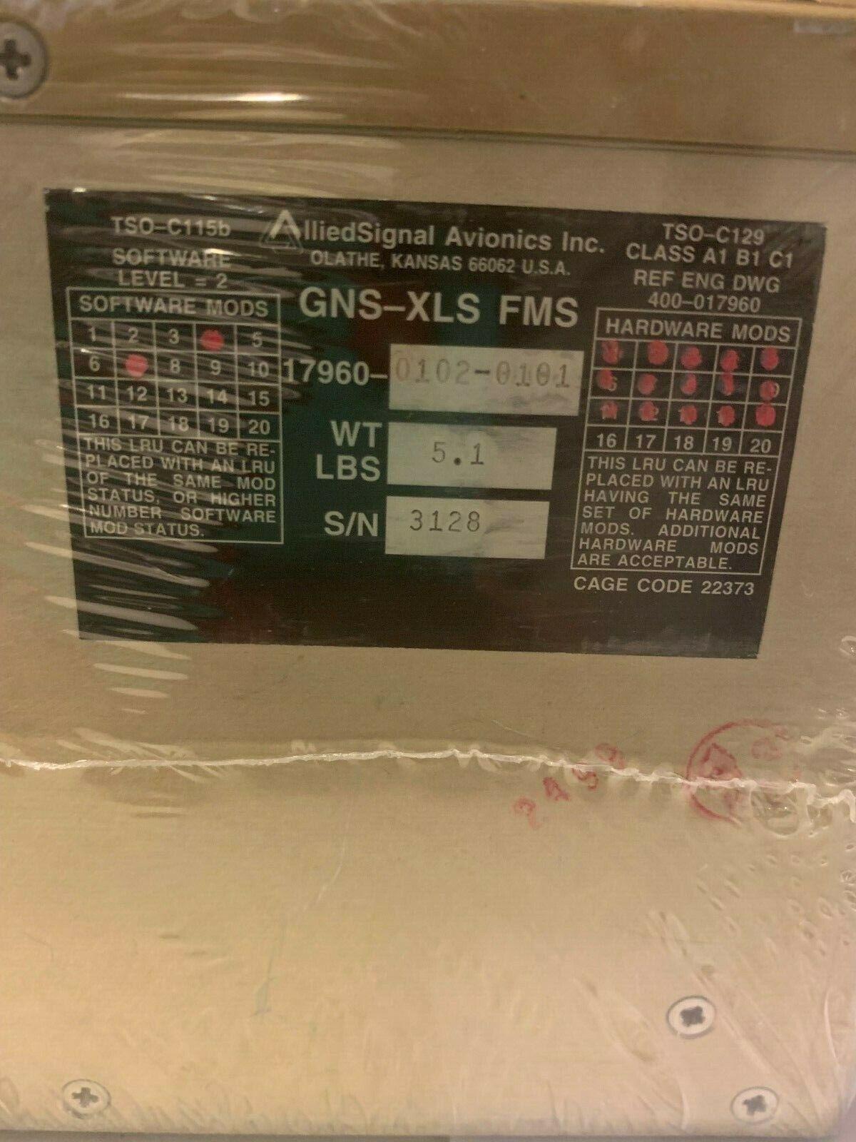 GNS-XLS  17960-0102-0101  FMS  SV  10/01/2019