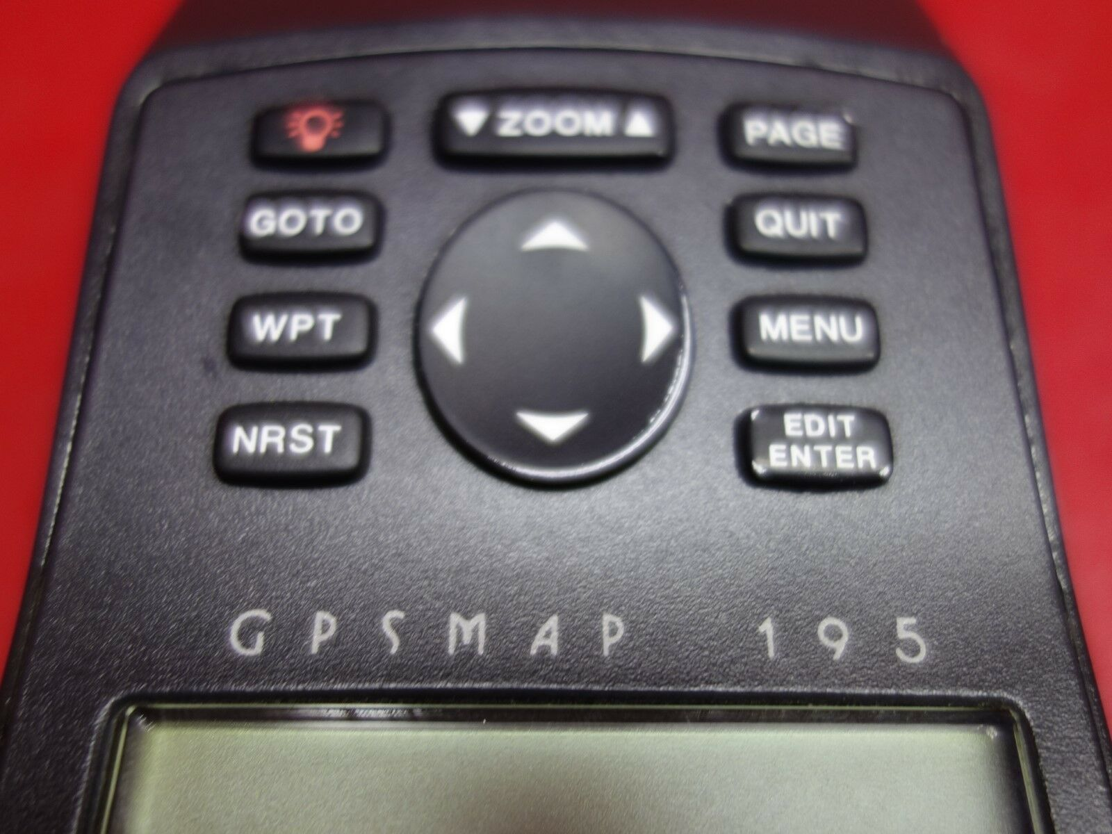 Garmin 195 GPSMAP 10-40V w/ Mount & Bag PN 011-00172-00