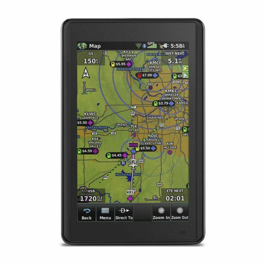 Garmin Aera 660 Aviation Portable GPS w/ South America Database 010-01518-03