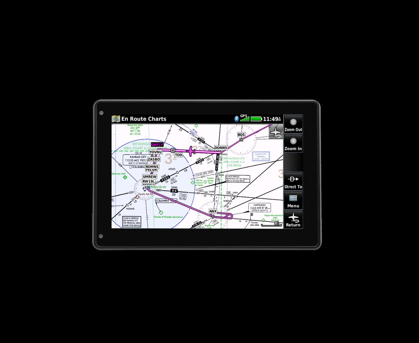 Garmin Aera 760 Portable GPS w/ North America Database (New)