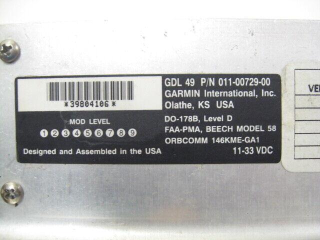Garmin GDL 49 Data Link Receiver - PN: 011-00729-00