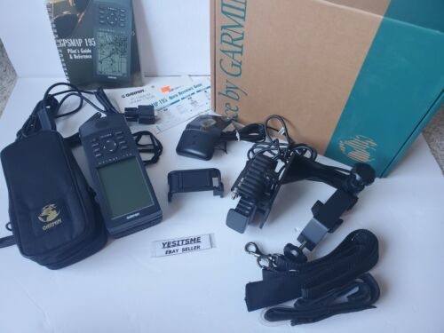 Guidance by Garmin 195 GPS Map 195 with Accessories