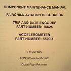 Loral Encoder 15625 & Accelerometer 5690-1 Service Parts Manual