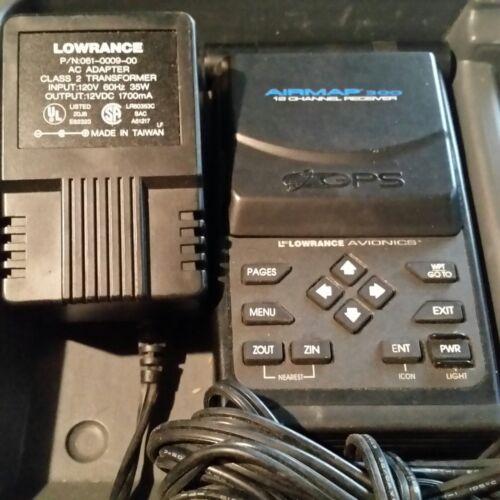 Lowrance Avionics - Airmap 300 GPS  - Avaition GPS - 12 Channel GPS Receiver