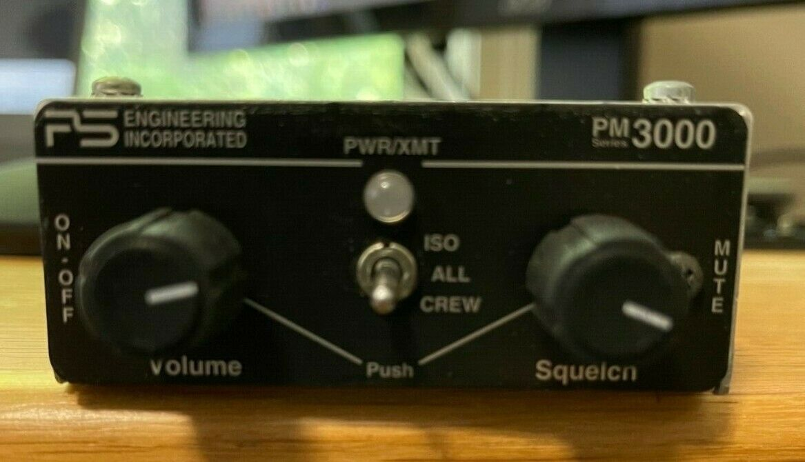 PS Engineering PM-3000 6-Place Stereo Intercom w/ Pilot Isolate