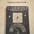TIC Tel-Instruments T-11A DME Ramp Tester Operator's & Service Manual