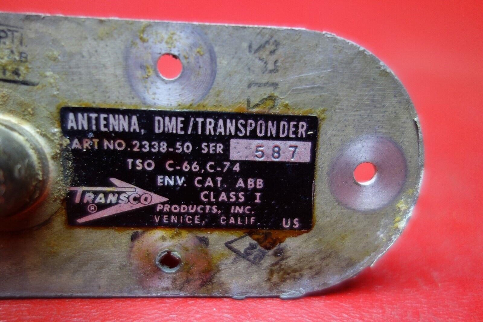 Transco DME/Transponder Antenna PN 2338-50