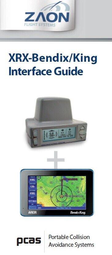 Zaon Flight Systems XRX PCAS Bendix King AV8OR Interface Guide - Black and White